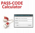 Pass Code Calculator Auto Key