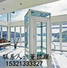廊坊別墅電梯家用小型觀光電梯無機房0底坑