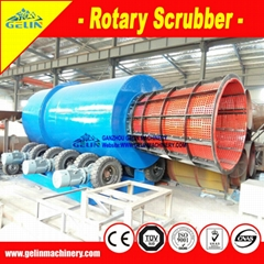 coltan processing equipment-rotary scrubber