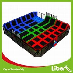 Indoor kids trampoline park commercial