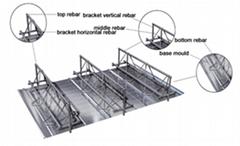 steel bar truss deck