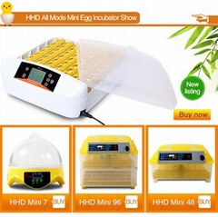 HHD 12 months warranty cheap price egg incubator for sale 56 egg YZ-56A