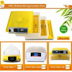 HHD automatic egg turning cheap price egg incubator in dubai for sale 96 eggs YZ