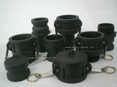 PP camlock hose coupling