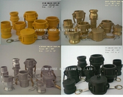 garden joint brass pipe fitting