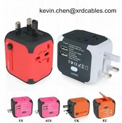 Travel Plug Adapters All in 1 Travel Adapter Worldwide Universal Socket Converte