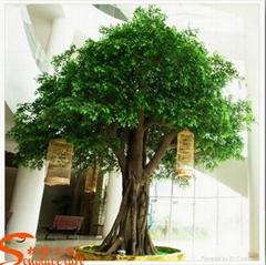 仿真水泥榕树制作 广州假树生产厂家 仿真榕树批发价格