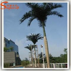 松涛工艺仿真椰子树 玻璃钢大型椰子树订做 广州人造景观树