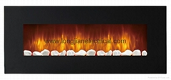 LED Electric Wall Mounted Fireplace Fan Heater