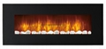 LED Electric Wall Mounted Fireplace Fan Heater  2