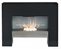 LED MDF Free Standing Electric Fireplace
