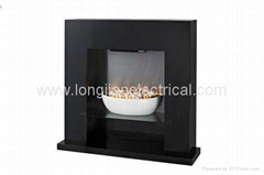LED Wooden Standing Free Electric