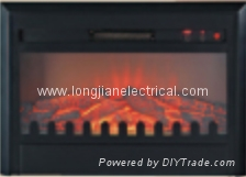 Electric Fireplace Insert with Mantel