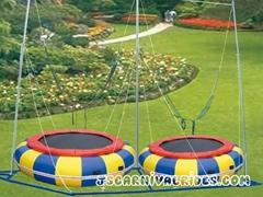 Funny kids trampoline bungee trampoline for sale