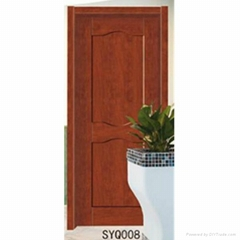 China made high quality interior panel solid composite wood door design