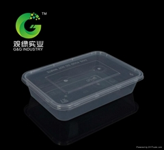 disposable takeaway plastic food containers