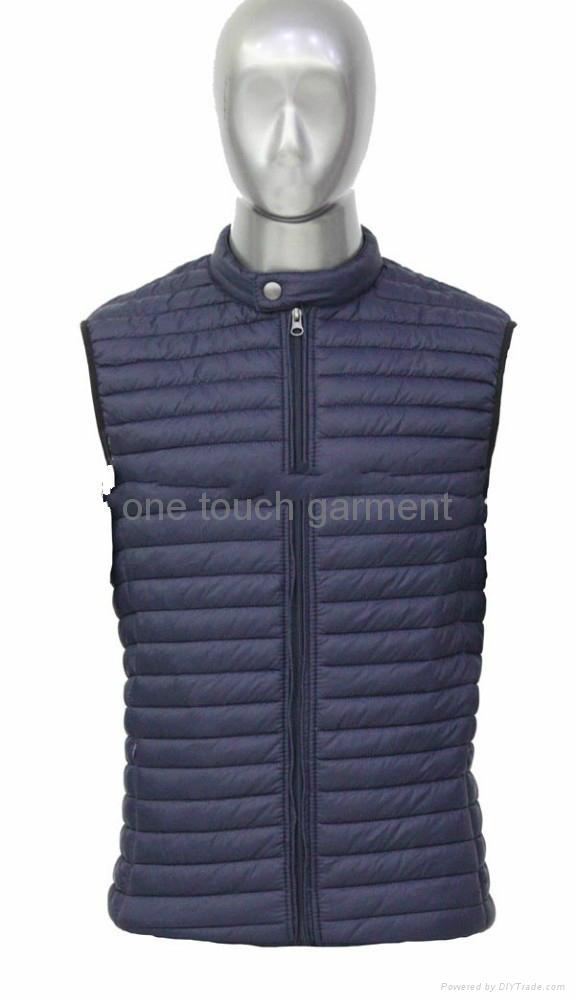 8236 Men winter  vest padding vest 1
