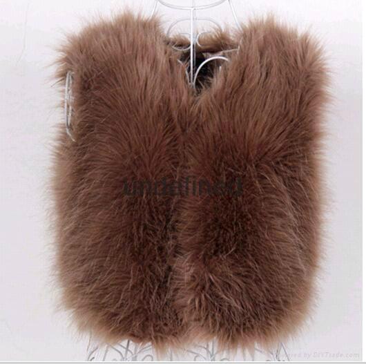8815 fur vest for lady 1