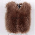 8815 fur vest for lady