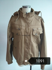 men winter cotton jacket