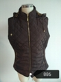 lady winter vest