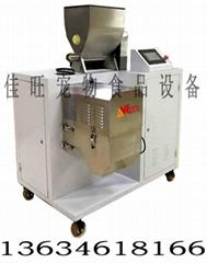 佳旺JWZ200--4T-D半自动狗粮生产线