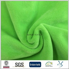 100 polyester microfiber soft ve  et fabric for sofa chair cushion cover