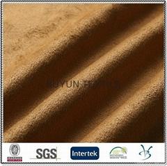 polyester warp knitting ultra micro suede fabric for sofa car shoe garment