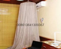 silver fiber mesh fabric for emf bed canopy 35-50DB ATTENUATION
