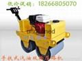 山東較低價手扶式單輪柴油壓路機