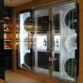 黑镜钢不锈钢酒柜 1