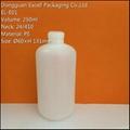 250ml PE Bottle for Liquid Makeup