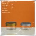 100ml Wide Mouth Transparent PET Jar