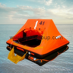25 Persons Inflatable Self Righting Life raft SOLAS