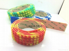 Nimuno loops LEGO toy block tape