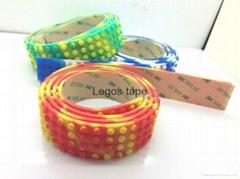Nimuno loops LEGO toy block tape