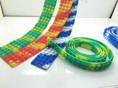 Wholesale price lego silicone block tape