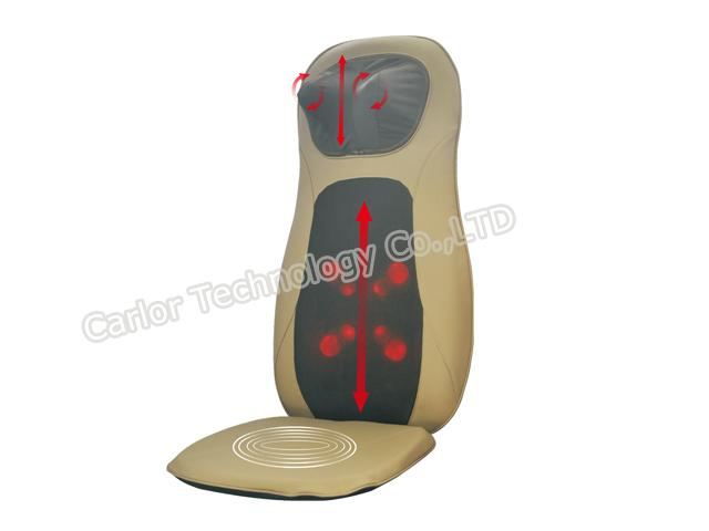 YJ-5606 Shiatsu Seat with Adjustable Neck Massager 1