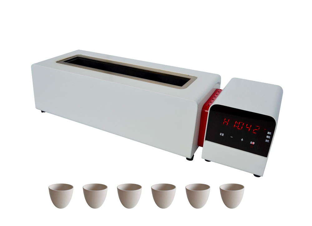 New design ashing furnace 850 degree electrical oven for sample ashing 1