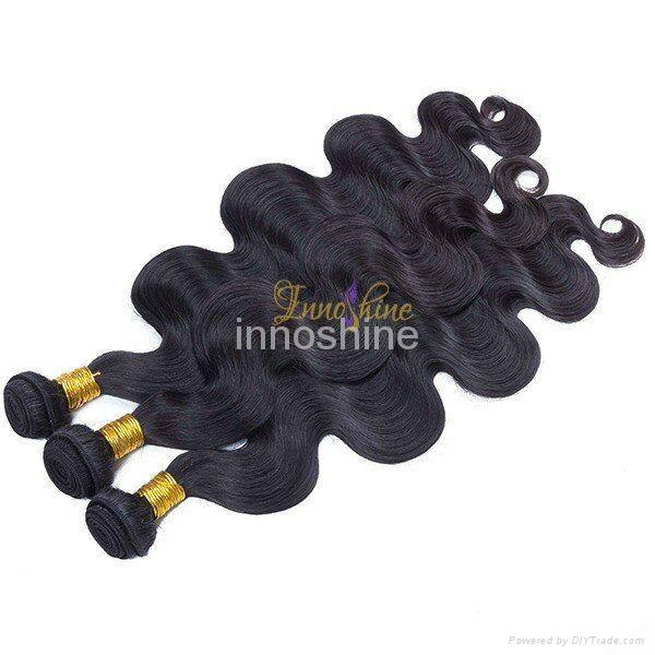 high quality wig afro kinky human hair weft 2