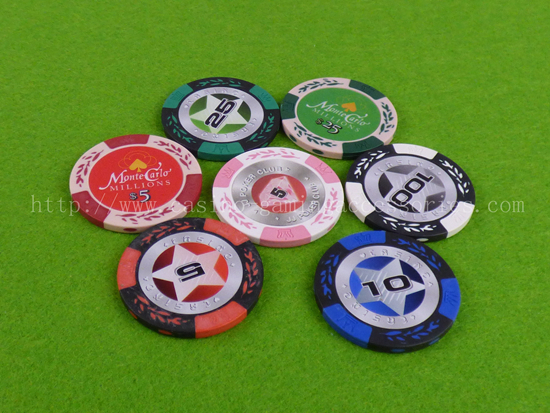 Clay Composite Poker Chip 2