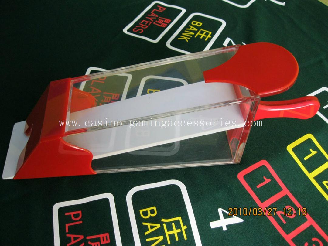 Casino Card Dealing Shoes 1