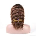 100% Wholesale Virgin Brazilian Human Hair Remy Full Lace Wig 2