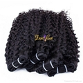 Innoshinehair  Wholesale Virgin brazilian Deep Curly Hair weft hair weaving 1