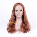 100% Wholesale Indian Best Long Real Hair Natural Wave Hair Remy Full Lace  Wigs 2