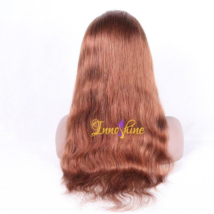 100% Wholesale Indian Best Long Real Hair Natural Wave Hair Remy Full Lace  Wigs 3