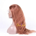 100% Wholesale Indian Best Long Real Hair Natural Wave Hair Remy Full Lace  Wigs 4