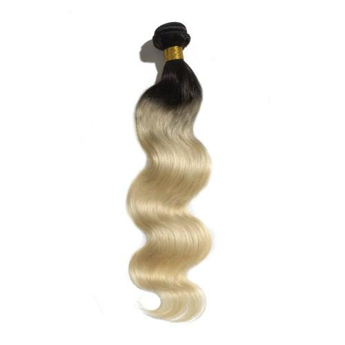 Hot Sale Top Quality two tone color Hair Extensions Indian Remy Human Hair   1
