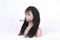 lace front human hair wigs 100% Indian human hair wigs 1