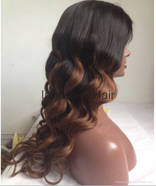 lace front human hair wigs 100% Indian human hair wigs 3